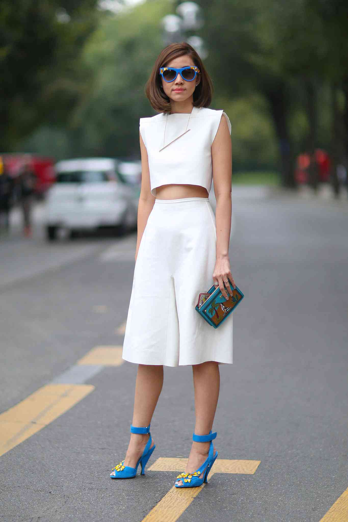 pantaloni culottes la moda