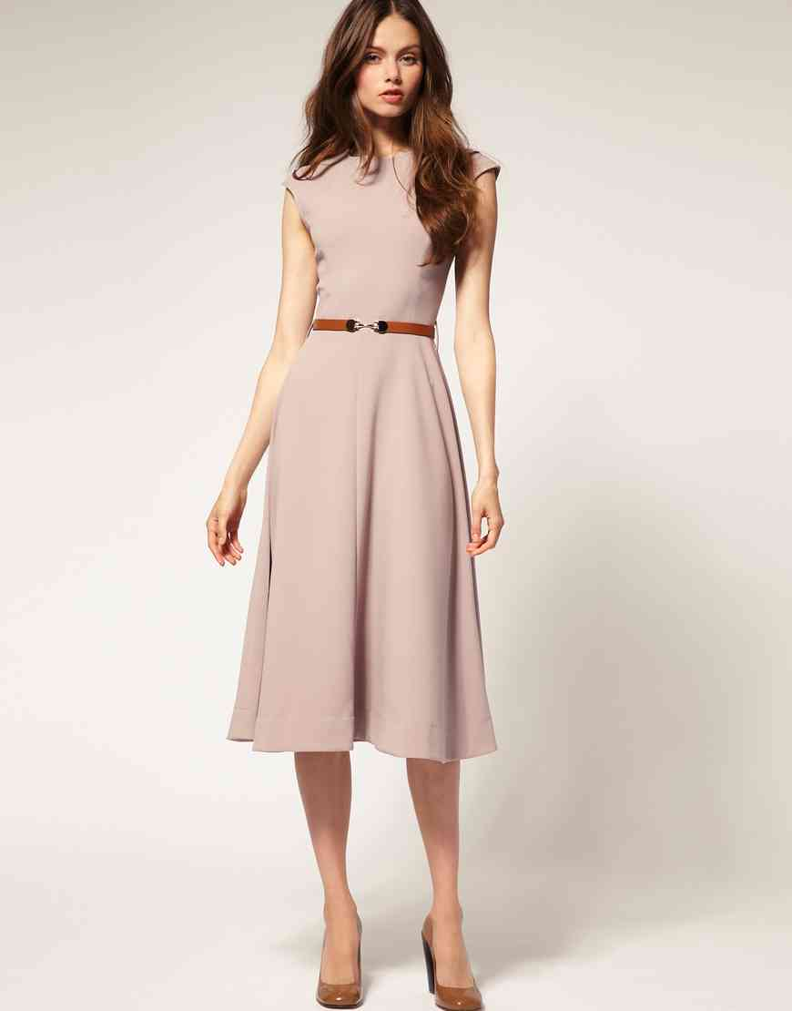 rochie midi eleganta