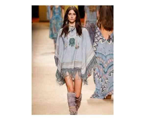 poncho rochie
