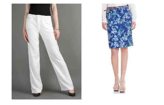 fuste- pantaloni pentru vara