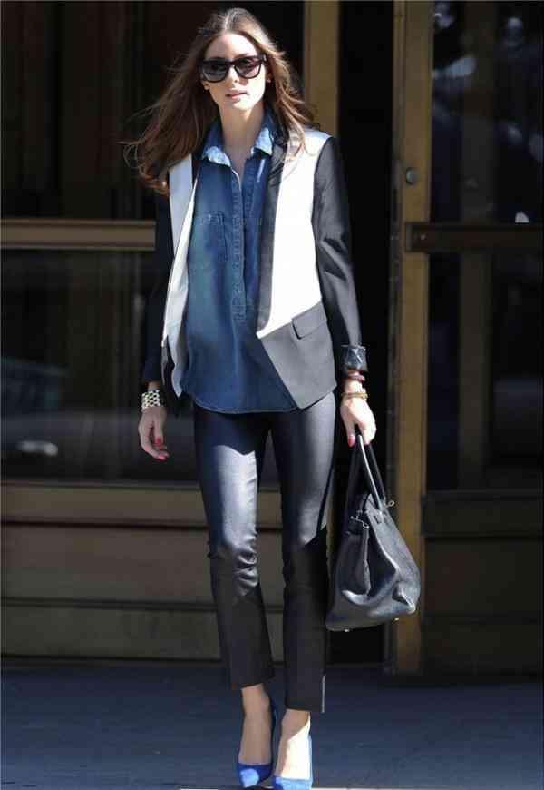 camasa blugi+blazer