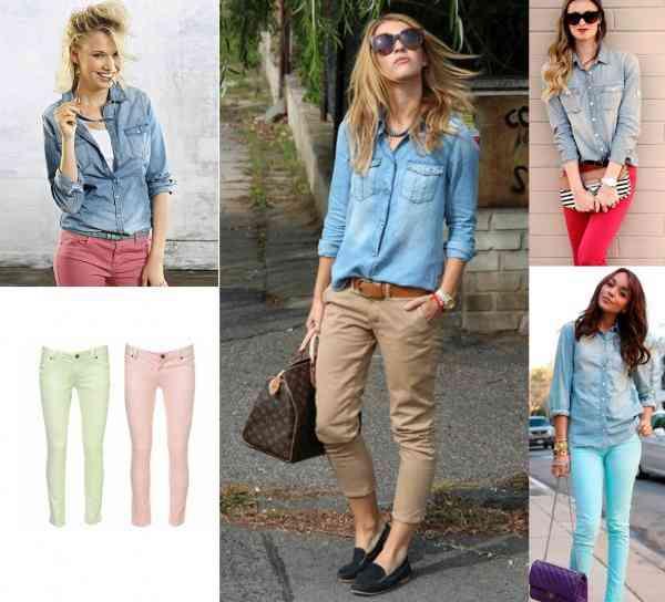 camasa blugi+pantaloni skinny