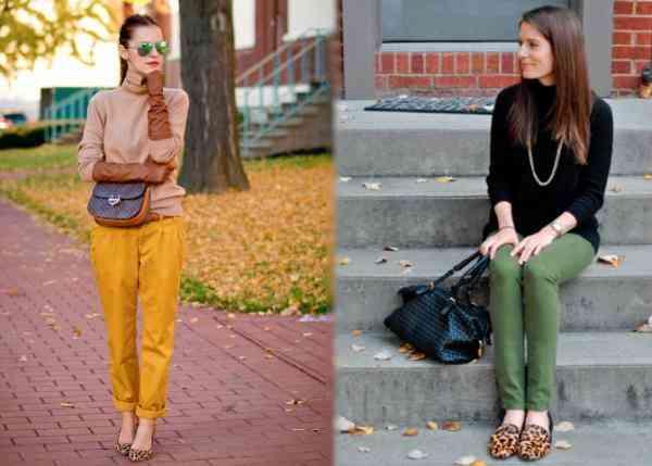 pantofi leopard+articole colorate
