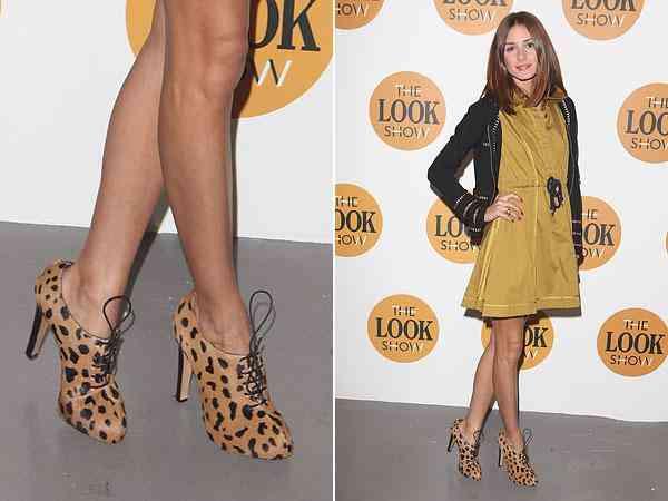 pantofi leopard+articole maro