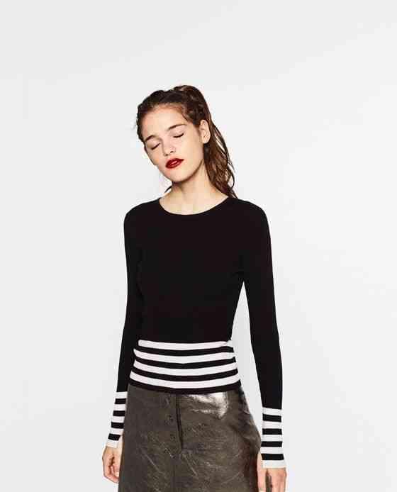 pulover-ajustat-zara