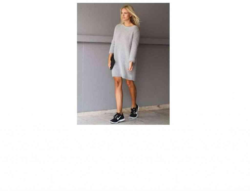 rochie-tricotata-cu-adidasi